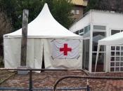 Zdravstveni radnici SKB Mostar i noćas u šatoru, nema napretka u pregovorima