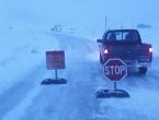 I dalje zatvoren promet na dionici Rakitno - Blidinje zbog snježnih nanosa