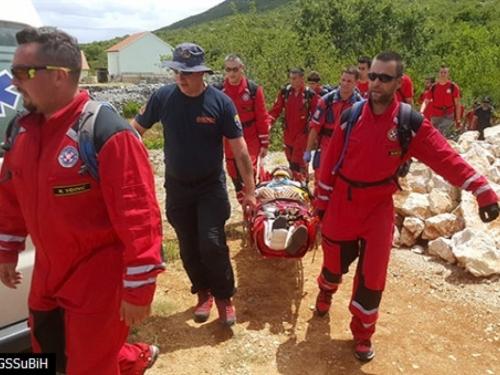 GSS brzom akcijom spasio unesrećenog starca kod Ljubuškog