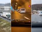Gužva je na svim autocestama koje vode do pogođenog područja, prizori su dirljivi
