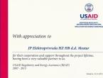 Zahvalnica USAID-a Elektroprivredi HZHB