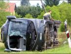 Kod Karlovca se prevrnuo autobus s putnicima iz BiH