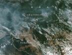 Amazonija gori, dim se vidi iz svemira