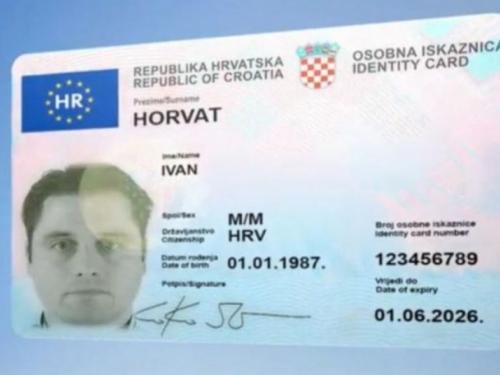 Ovako izgledaju nove hrvatske osobne iskaznice: Doznajte što se sve mijenja i kako ih nabaviti