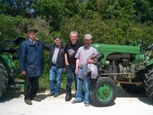 Neobično hodočašće - Traktorima iz Austrije u Međugorje