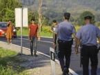 VIDEO| BiH: Pogledajte intervenciju policije nakon što su migranti blokirali promet
