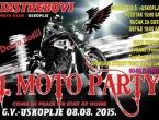 Poziv na prvi Moto party u Uskoplju