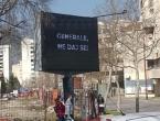 U zapadnom dijelu Mostara osvanule poruke podrške Atifu Dudakoviću