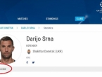 UEFA zbog doping afere skinula Darija Srnu s popisa za Ligu prvaka