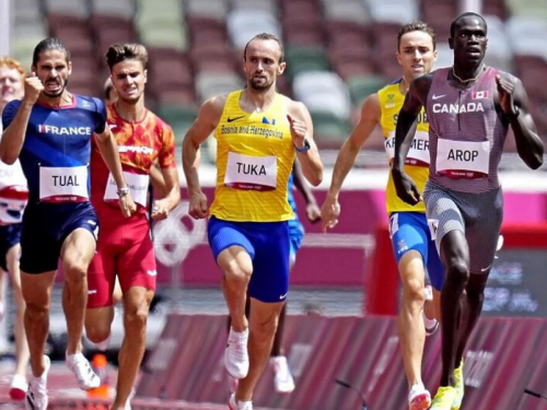 Amel Tuka sjajnom utrkom izborio plasman u polufinale Olimpijskih igara