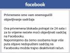Facebook na 24 sata blokirao Brotnjo.info!