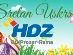 Uskrsna čestitka OO HDZ BiH Rama