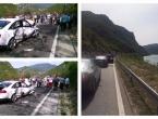 Teška nesreća kod Jablanice, promet potpuno obustavljen