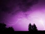 Aktiviran žuti meteoalarm zbog očekivanih pljuskova i grmljavine