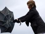 Što nas očekuje do kraja mjeseca: Orkanski vjetrovi, 120 litara kiše...