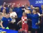 VIDEO: Predsjednica pobjedu nad Rusima proslavila s reprezentativcima
