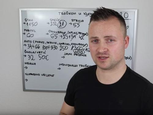 VIDEO: Ivan Lovrić objavio nove troškove života u Njemačkoj