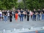 Hrvatski mladi aktivisti u Mostaru položili svijeće za ubijenu vitešku djecu