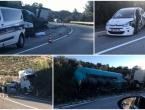 Kod Dubrovnika sudar cisterne, auta i saniteta: Jedna osoba poginula