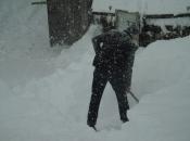 FOTO: Visina snijega na Orašcu 76 cm