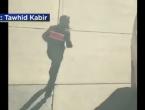 VIDEO: Pojavila se snimka napadača odmah nakon napada