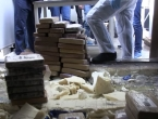 Policija objavila video zapljene pola tone kokaina u Pločama
