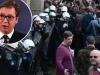 Vučić: Brutalno političko nasilje, umiješan i inozemni faktor