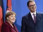 Merkel nahvalila Vučića i nazvala Srbiju čimbenikom mira u regiji