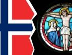 Nakon 500 godina, crkva i država Norveške se odvajaju