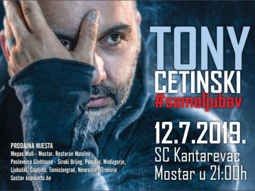 Koncert Tonya Cetinskog u Mostaru