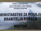 Ministarstvo branitelja HNŽ: Natječaj za jednokratna bespovratna novčana sredstva
