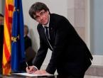 Smijenjeni predsjednik Katalonije Carles Puigdemont predao se belgijskoj policiji