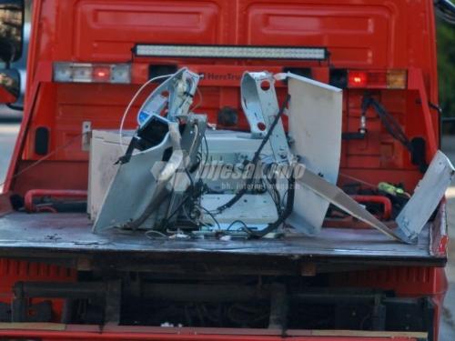 Eksplozivom raznesen bankomat u Bugojnu