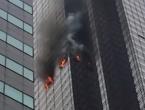 Zapalio se Trumpov toranj u New Yorku, poginuo muškarac