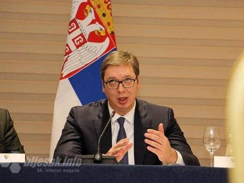 Vučić očitao lekciju Izetbegoviću u Mostaru