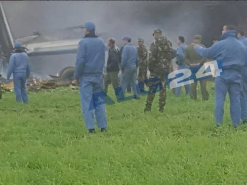 U Alžiru se srušio zrakoplov