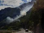 Tri požara u Jablanici, tražit će se pomoć helikoptera