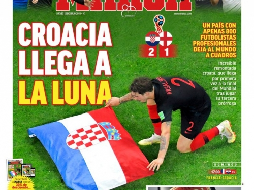 Hrvati zauzeli naslovnice stranih medija, pogledajte što pišu