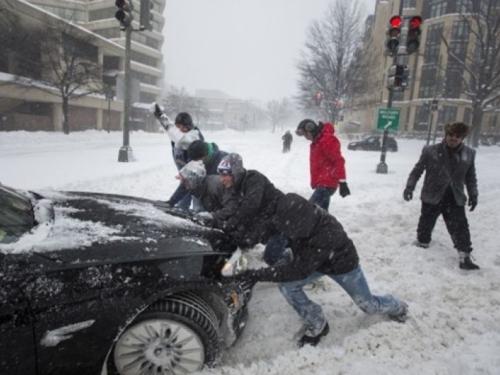 Nakon SAD-a snježna oluja kreće prema Europi