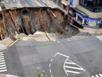 Građevinski radovi vjerojatan uzrok goleme rupe u Japanu