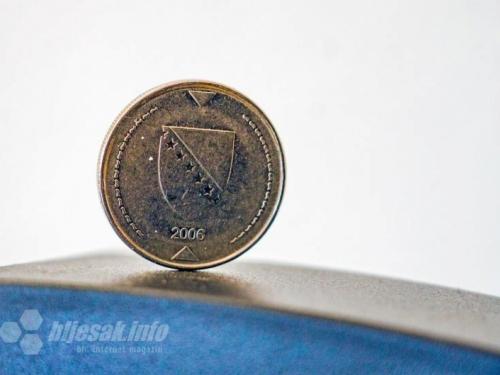 Najviše se krivotvore kovanice od 1KM