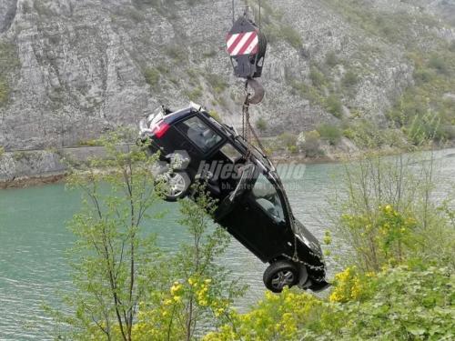 Iz Neretve izvučen automobil kojeg su koristili provalnici u Potocima