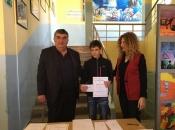 Luka Marušić osvojio treće mjesto u natjecanju iz matematike u Čapljini