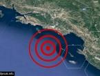 Potres u Jadranskom moru kod Dubrovnika
