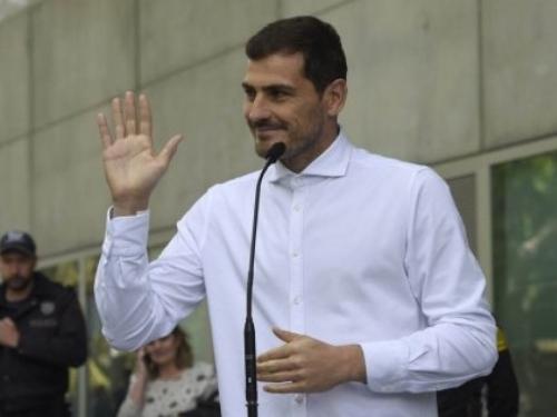 Casillas nasmijan izašao iz bolnice
