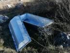Uz cestu Livno - Šujica pronađen mrtvački sanduk