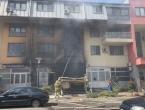 Sarajevo: Požar u prodavaonici boja i lakova gotovo uništio stambenu zgradu