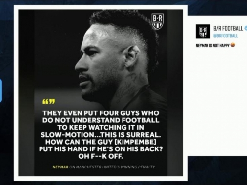 Neymar nakon šokantnog penala: Je*ite se, Uefine neznalice