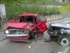 Teška prometna nesreća u ulici Dive Grabovčeve u Prozoru