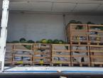U kamionu iz Hercegovine među lubenicama gotovo pola tone marihuane